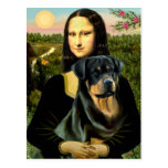 Mona Lisa - Rottweiler (#3) Postal