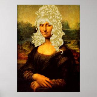 Mona Lisa rubia Impresiones