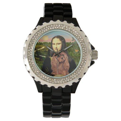 Mona Lisa - Ruby Cavalier Wrist Watches