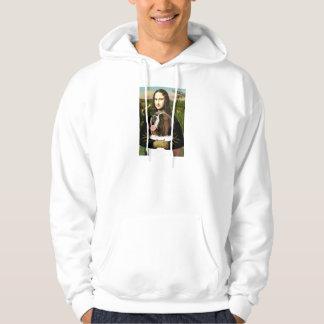 Mona Lisa - Saint Bernard Hoodie