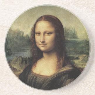 Mona Lisa Sandstone Coaster