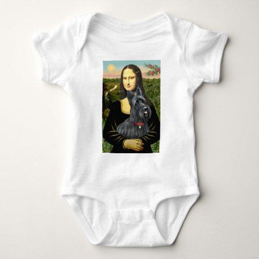 Mona Lisa - Scottish Terrier #1 Tee Shirt