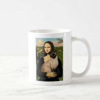 Mona Lisa - Seal Point Siamese cat Classic White Coffee Mug