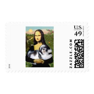 Mona Lisa - Shih Tzu (A-ld) Postage Stamps
