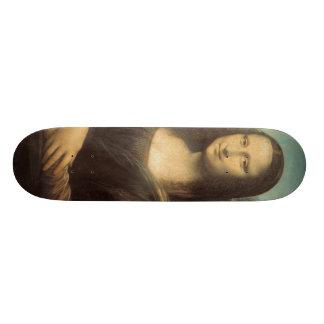 Mona Lisa Skateboard