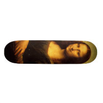 Mona Lisa Skateboard Deck
