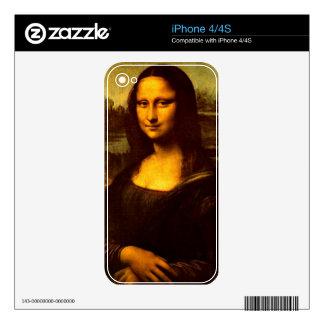 Mona Lisa iPhone 4S Decal