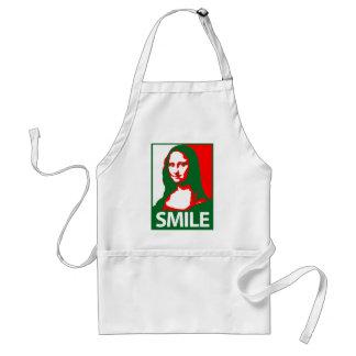 Mona Lisa Smile Adult Apron