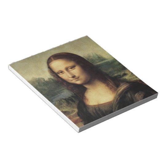 Mona Lisa smile Notepad