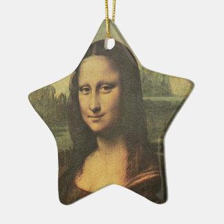 Mona Lisa Star Ornament