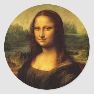 Mona Lisa Sticker