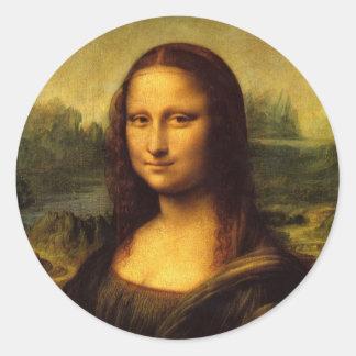 Mona Lisa Stickers