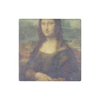 Mona Lisa Stone Magnet