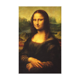 Mona Lisa - Stretched Canvas Reproduction Canvas Print