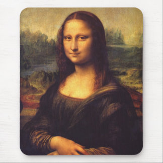 Mona Lisa Alfombrilla De Raton