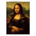 Mona Lisa Tarjeta De Felicitación
