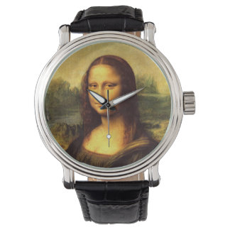 Mona Lisa Template Wristwatch