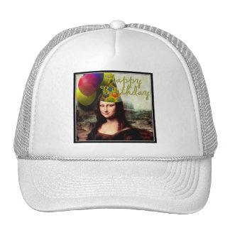 Mona Lisa -  The Birthday Girl Mesh Hat