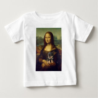 Mona Lisa: The Dog Lover Baby T-Shirt