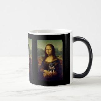 Mona Lisa: The Dog Lover Magic Mug