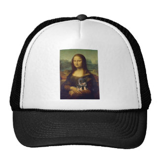 Mona Lisa: The Dog Lover Trucker Hat