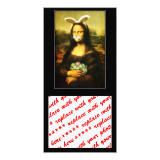 Mona Lisa, The Easter Bunny Card