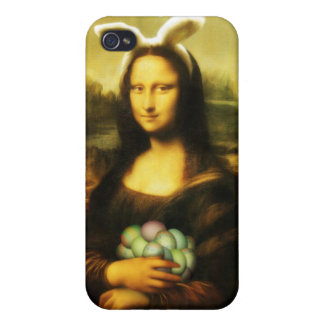 Mona Lisa, The Easter Bunny Case For iPhone 4