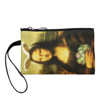 Mona Lisa, The Easter Bunny Coin Wallet