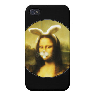 Mona Lisa, The Easter Bunny iPhone 4/4S Case