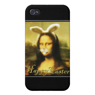 Mona Lisa, The Easter Bunny iPhone 4/4S Cover