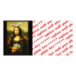 Mona Lisa, the Easter Bunny Photo Greeting Card