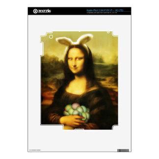 Mona Lisa, The Easter Bunny Skin For iPad 3