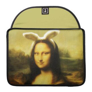 Mona Lisa, The Easter Bunny Sleeve For MacBooks
