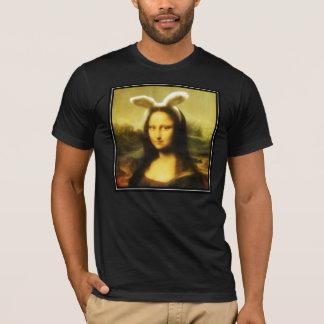 Mona Lisa The Easter Bunny T-Shirt