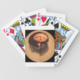 Mona Lisa transforma Baraja Cartas De Poker