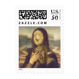 Mona Lisa Undecided Postage