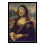 Mona Lisa - Unmasked Print