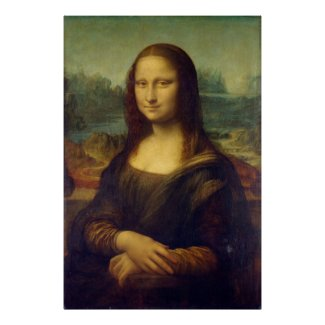 Mona Lisa vel Iucunda a Magistro Leonardo da Vinci