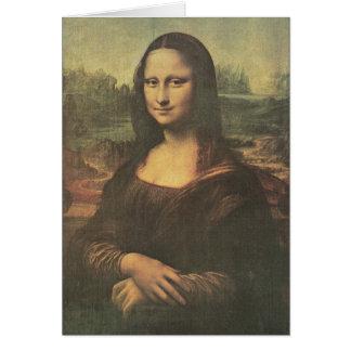 Mona Lisa Vintage Fine Art Card