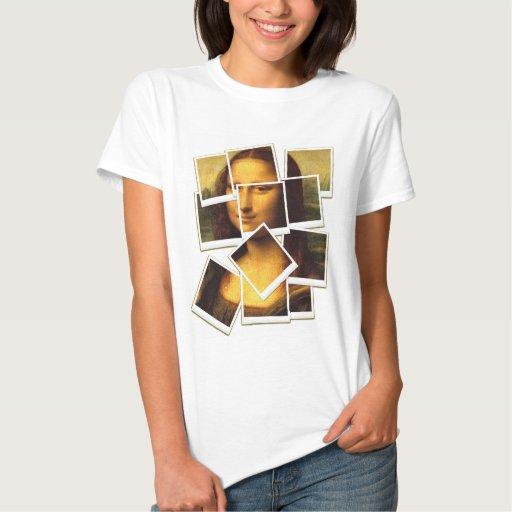 Mona Lisa wacky snapshots Tees