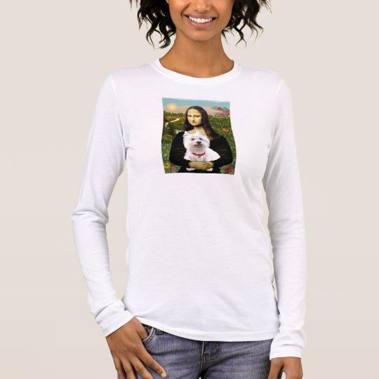 Mona Lisa - Westie 3 Long Sleeve T-Shirt