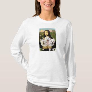 Mona Lisa - Westies (three) T-Shirt