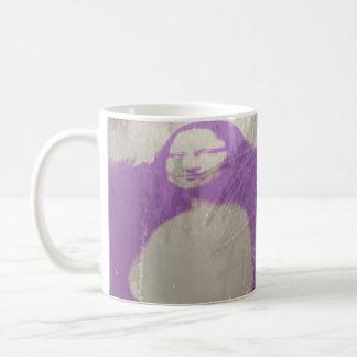 Mona Lisa Wet Plate Purple Photography Coffee Mug
