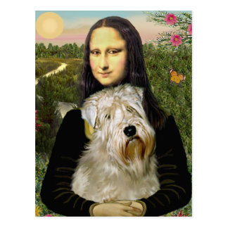 Mona Lisa - Wheaten Terrier 1 Post Card