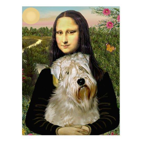 Mona Lisa - Wheaten Terrier 1 Postcard