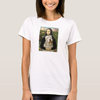 Mona Lisa - Wheaten Terrier 1 T-Shirt