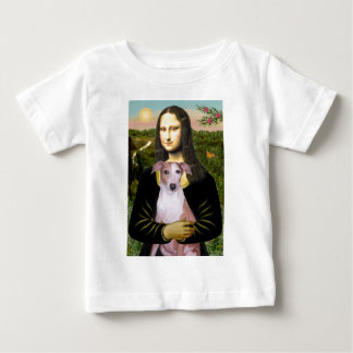 Mona Lisa - Whippet (#7 light red) Baby T-Shirt