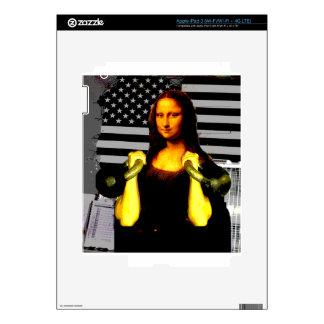 Mona Lisa with KettleBells iPad 3 Skin