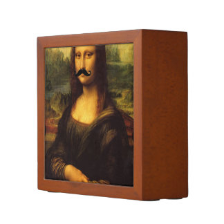 Mona Lisa With Mustache Pencil Holder