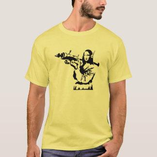 Mona Lisa with RPG T-Shirt